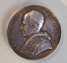 LEON XIII SILVER  MEDAL