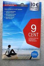 Blau.de SIM Karte - NEU/OVP