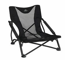 Outdoor Folding Chair Seat Low Profile Camping Beach Sports Lightweight Portable
