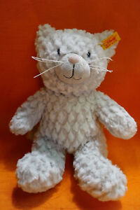 STEIFF  CHAT GRIS  28 CM REFERENCE 099281