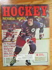 Hockey Pictorial World PHIL ESPOSITO December 1978 Magazine NEW YORK RANGERS
