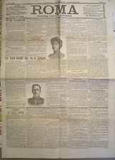 ROMA GIORNALE POLIT. QUOT. 26-27 MAGGIO 1906- FESTE NUZIALI DEL RE DI SPAGNA 629