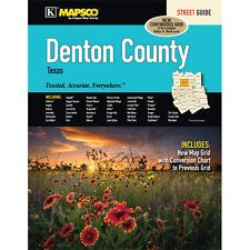 Denton County TX Mapsco Street Atlas