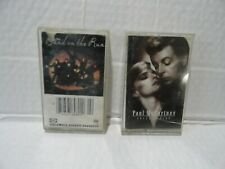 PAUL McCARTNEY BEATLES - 2 CASSETTE TAPES - PRESS TO PLAY & BAND ON THE RUN