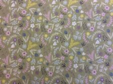 Lewis And Irene - Salisbury Spring D#A207 - Flowers Col. 3 100% Cotton Fabric