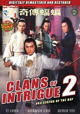 Clans of Intrigue 2 -Hong Kong Rare Kung Fu Martial Arts Action movie - New Dvd