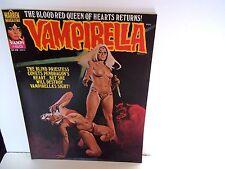 VINTAGE VAMPIRELLA 1977 MAY #60 VAMPIRE HORROR MAGAZINE WARREN HTF ENRICH NICE