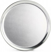 New listing (25cm , Silver) - New Star Foodservice 50806 Aluminium Coupe Style Pizza Tray