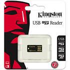 Kingston USB microSD microSDHC MicroSDXC Memory Card Reader FCR-MRG2