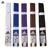 adidas BJJ Gi Rrank Belts / Jiu Jitsu Belts Made Of High Quality Cotton