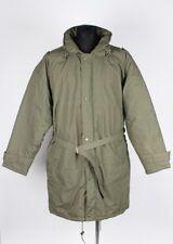 Sanderson Vintage Hooded Down Men Coat Jacket Size Runs 3XL, Genuine