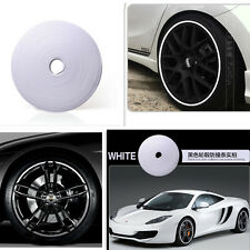 Tire Guard Protector Line Glue Rubber Moulding for Auto Car Wheel Hub Rim White