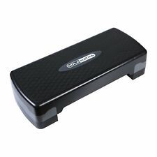 HolaHatha Aerobic Step Platform Exercise Fitness Equipment w/ Adjustable Height