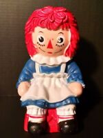 Raggedy Ann Coin Bank The Bobbs Merrill Co 1972 My Toy Co Hard Plastic Vintage