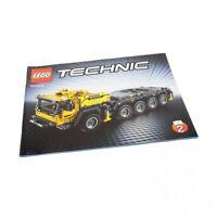 1x Lego Technic Bauanleitung A4 Heft 2 Model Mobiler Kran Mk II 42009