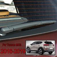 Windshield Wiper Arm Blade Kit Rear Window Set For Hyundai Tucson 16-19 17 18 19