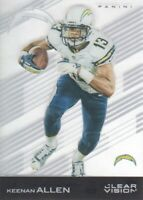 2015 Panini Clear Vision Football #17 Keenan Allen San Diego Chargers