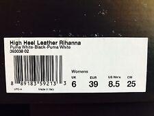 16531e01514ed3 PUMA Fenty by Rihanna High Heel Leather Shoes Size US 8.5 UK 6 EUR 39 363038