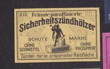 Ancienne étiquette allumettes  Allemagne  BN101470 Diable