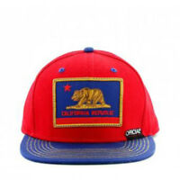 Stay Official - Red and Blue Cali Patriot Inversed Snapback