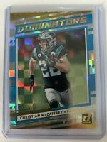2020 Donruss Football Christian McCaffrey Dominators Panthers Foil Insert #D-CM