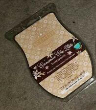 Scentsy Brick Peach & White Amber, Comfort & Joy, Pima Cotton, Cinnamon Chai