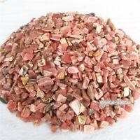 1/4lb Natural Tumbled Rhodochrosite Quartz Crystal Bulk Stone Reiki Healing