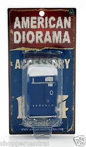 American Diorama - Vending Machine 1:24 Scale (Blue)