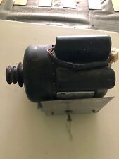 American dryer motor Adc Part# 881096 complete w/ base and mount slide assembly