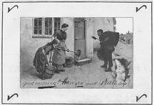 Pears Soap SPAZZACAMINO Tema-Vittoriano annuncio 1890