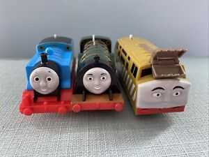 Trackmaster Thomas The Tank Engine Battery Trains Thomas Diesel 10 and Emily