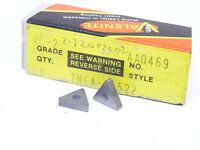 New Surplus 10pcs. Valenite TNEA 2.522  Grade: VC2  Carbide Inserts