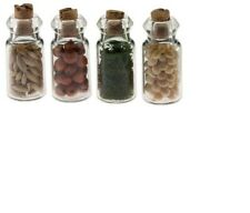 Dollhouse Miniatures 1:12 Scale Spice Seed Jars 4/Pk #IM65005
