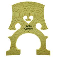 More details for teller germany 1/16 cello bridge hard maple - unfitted