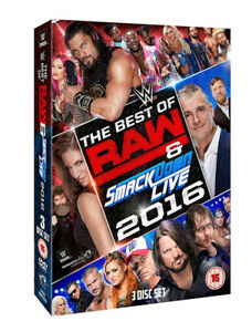 WWE: The Best of Raw and Smackdown 2016 DVD (2017) Shane McMahon cert tc 3