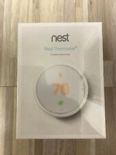 Nest Learning Thermostat E T4000ES (White) Newest Model