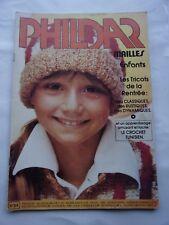 CATALOGUE de tricots - PHILDAR - N° 54-  ENFANTS