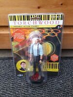 "TORCHWOOD SERIES 1 CAPTAIN JACK HARKNESS 5"" ACTION FIGURE DR WHO BRAND NEW!"