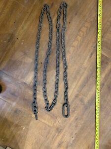 Galvanised Wrought iron Chain 268 Cm Length
