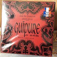 Jeanne Arthes Paris Guipure and Silk EDP 100mls