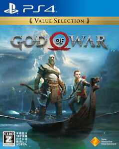 God of War Value Selection Sony Playstation 4 PS4 Games From Japan USED