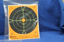 "25 PACK Caldwell Orange Peel Targets 8"" Self-Adhesive Bullseye  splatter target"