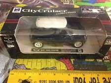City Cruiser Die Cast 1/32 Scale Mini Cooper Blue - Possible Scalextric Scenery