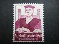 Germany Nazi 1934 Stamp MNH Judge WWII Third Reich Deutsches Reich German Deutsc