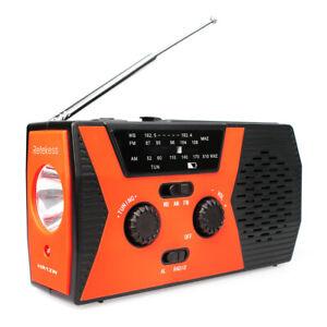 Tragbare FM/AM Radio Handkurbel Solar Notfall Digitalanzeige SOSAlarm Gift radio