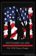 Sept. 11 Firefighter Rememberance 24x36 In. Poster