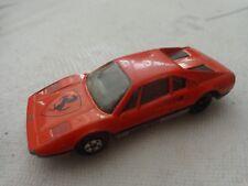 1/55 MATCHBOX - CLASSIC FERRARI 308 GTB RACECAR DIECAST CAR VINTAGE 1981