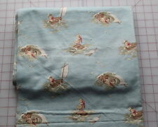 1 yd 1890-1910 juvenile print flannel, Duck sailing in washtub, extremely cute!