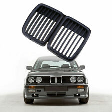 For 1982-1994 BMW E30 Grill 3 Series Front Hood Kidney Grille M3 Look Shiny Trim
