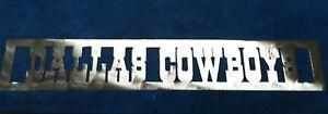 "Plasma Cut 30 inch ""Dallas Cowboys""metal Plaque  Sign mancave Garage/Wall Decor"